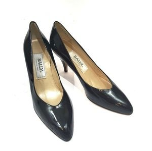 Italian Made Bally Patent Leather Pump Heels